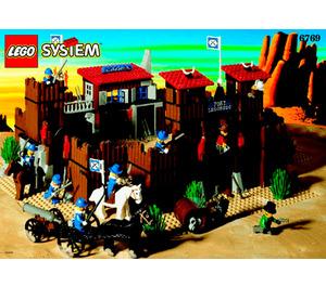 LEGO Fort Legoredo Set 6769 Instructions