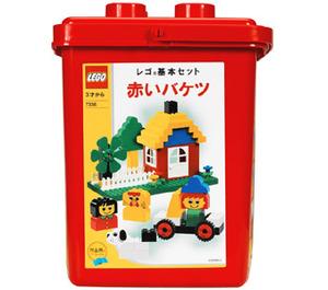 LEGO Foundation Set - Red Bucket 7336