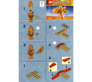 LEGO Frax' Phoenix Flyer Set 30264 Instructions