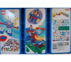 LEGO Freestyle Playcase (L), 5+ Set 4153