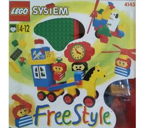 LEGO Freestyle Playcase (M), 4+ Set 4145