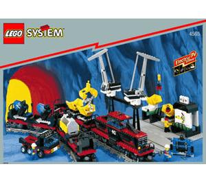LEGO Freight and Crane Railway Set 4565 Instructions