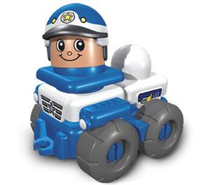 LEGO Friendly Police Car Set 3698