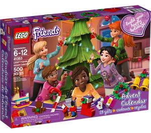 LEGO Friends Advent Calendar Set 41353-1 Packaging