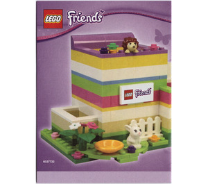 LEGO Friends Pencil Holder (40080) Instructions
