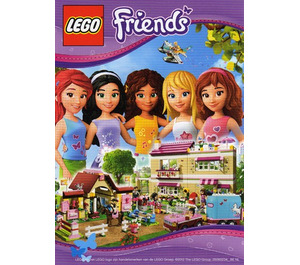 LEGO Friends Postcard