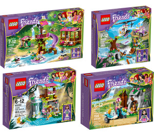 LEGO Friends Ultimate Jungle Collection Set 5004242