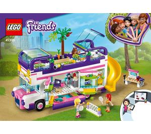 LEGO Friendship Bus Set 41395 Instructions