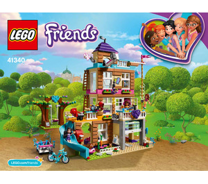 LEGO Friendship House Set 41340 Instructions