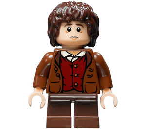 LEGO Frodo Baggins without Cape Minifigure