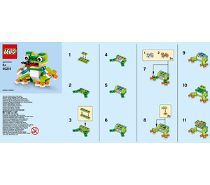 LEGO Frog Set 40214 Instructions