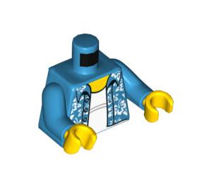 LEGO Fun at the Beach Grandpa Minifig Torso (973 / 76382)