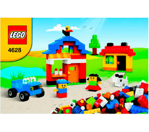 LEGO Fun With Bricks Set 4628 Instructions
