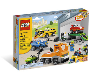 LEGO Fun With Vehicles Set 4635 Packaging