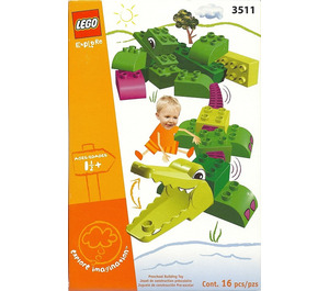 LEGO Funny Crocodile Set 3511