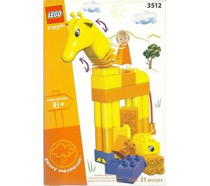 LEGO Funny Giraffe Set 3512