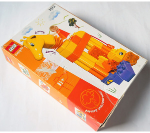 LEGO Funny Giraffe Set 3512 Packaging