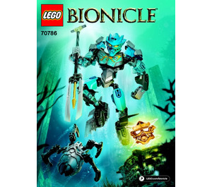 LEGO Gali - Master of Water Set 70786 Instructions