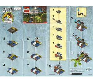 LEGO Gallimimus Trap Set 30320 Instructions