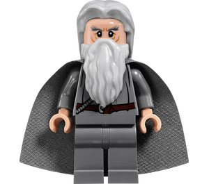 LEGO Gandalf the Grey with Hair and Cape Minifigure