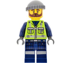 LEGO Garbage Man Grant Minifigure