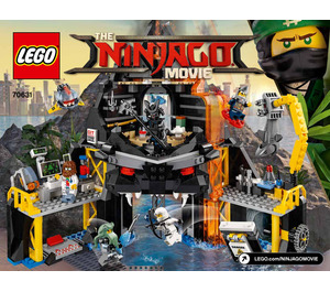 LEGO Garmadon's Volcano Lair Set 70631 Instructions