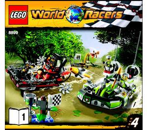 LEGO Gator Swamp Set 8899 Instructions