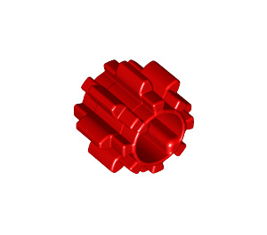 LEGO Gear with 8 Teeth Wide, Notched, and No Friction (11955)