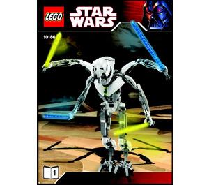 LEGO General Grievous Set 10186 Instructions