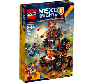LEGO General Magmar's Siege Machine of Doom Set 70321 Packaging