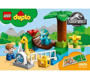 LEGO Gentle Giants Petting Zoo Set 10879 Instructions