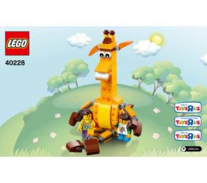 LEGO Geoffrey & Friends Set 40228 Instructions