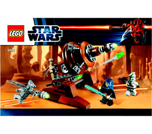 LEGO Geonosian Cannon Set 9491 Instructions