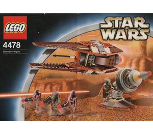 LEGO Geonosian Fighter Set 4478 Instructions