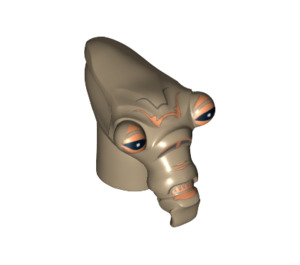 LEGO Geonosian Head (12174 / 95699)