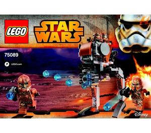 LEGO Geonosis Troopers Set 75089 Instructions