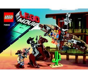 LEGO Getaway Glider Set 70800 Instructions