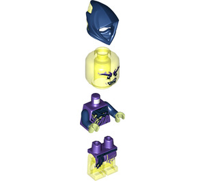 LEGO Ghost Ninja Attila Minifigure