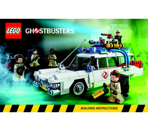 LEGO Ghostbusters Ecto-1 Set 21108 Instructions