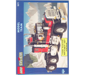 LEGO Giant Truck Set 5571 Instructions