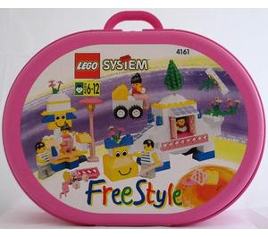 LEGO Girl's Freestyle Suitcase, 6+ Set 4161