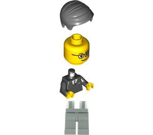 LEGO Glasgow Brand Store Male with Black Vest Minifigure