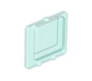 LEGO Glass for Window 1 x 2 x 2 Plane (4862)