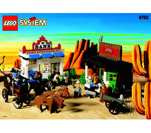 LEGO Gold City Junction Set 6765 Instructions