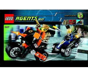 LEGO Gold Tooth's Getaway Set 8967 Instructions