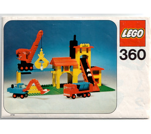 LEGO Gravel Works Set 360-1 Instructions
