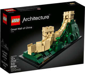 LEGO Great Wall of China Set 21041 Packaging