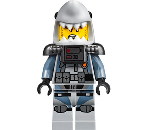 LEGO Great White Shark Army Thug Minifigure