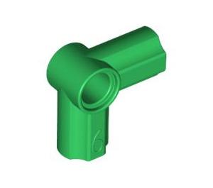 LEGO Green Angle Connector #6 (90º) (32014)
