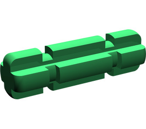 LEGO Green Axle 2 with Grooves